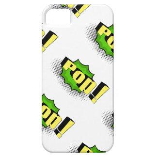 Pop Art Comic Style Pop! iPhone 5 Case