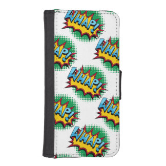 Pop Art Comic Style Whap! iPhone 5 Wallets