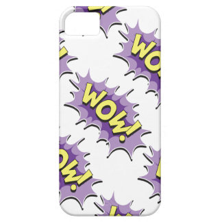 Pop Art Comic Style Wow Case For iPhone 5/5S