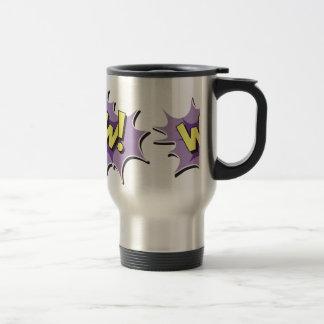 Pop Art Comic Style Wow Mugs