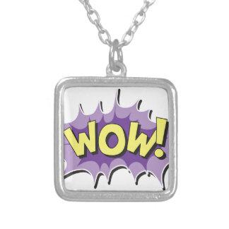 Pop Art Comic Style Wow Custom Jewelry