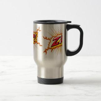 Pop Art Comic Style Zap! Coffee Mug