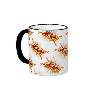 Pop Art Comic Style Zap! Coffee Mugs