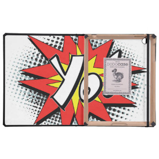 Pop Art Comic Yo iPad Cover