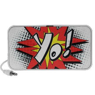 Pop Art Comic Yo Mp3 Speaker