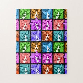 Pop Art Corgi Puzzle