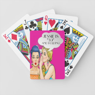 Pop Art Customized Playing Cards