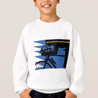 Pop Art Cyclist Sweatshirt