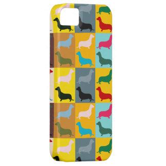Pop Art Dachshunds iPhone 5 Cover