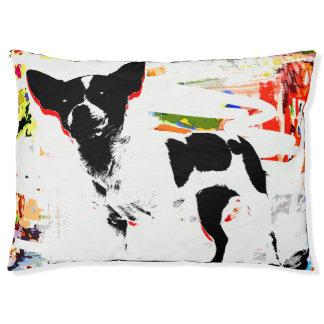 Pop Art Dog Outddoor Dog Cat Pet Pillow