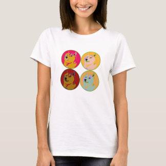 Pop Art dogecoin design T-Shirt