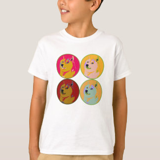 Pop Art dogecoin design T-Shirt