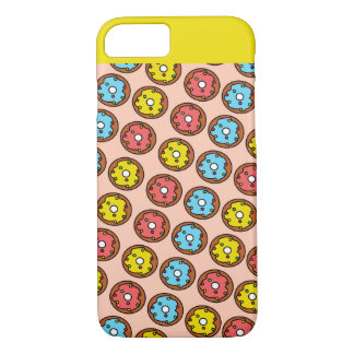 Pop Art Donut Print iPhone Case