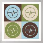 Pop Art EEG Poster