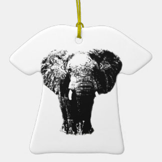 Pop Art Elephant Ornaments