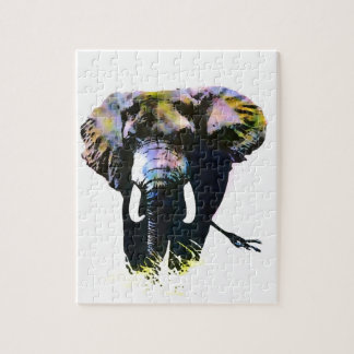 Pop Art Elephant Puzzles