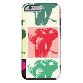 Pop Art Elephants Tough iPhone 6 Case