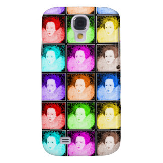 Pop Art Elizabeth I Galaxy S4 Case