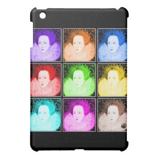 Pop Art Elizabeth I Cover For The iPad Mini