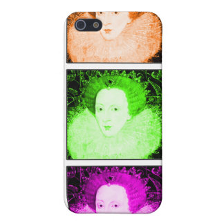 Pop Art Elizabeth I Case For iPhone 5