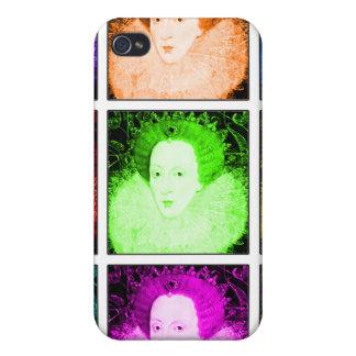 Pop Art Elizabeth I iPhone 4 Covers