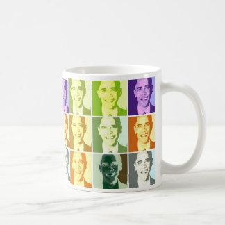Pop Art .esque Obama Mug
