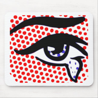Pop Art Eye Mouse Mat