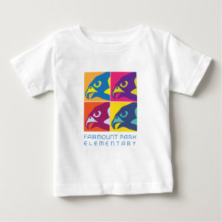 Pop Art Falcon Spirit Baby T-Shirt