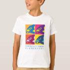 Pop Art Falcon Spirit T-Shirt