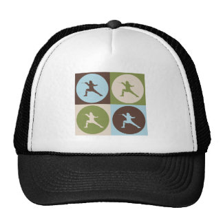 Pop Art Fencing Mesh Hats