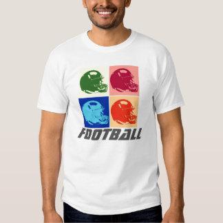 Pop Art Football Helmet T-Shirt - American Sports