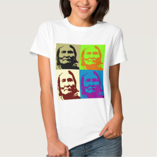 Pop Art Freedom Fighter Geronimo T Shirt