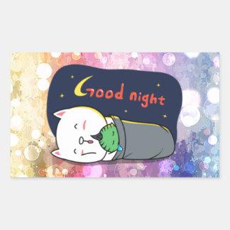 Pop art, fun, happy,girly,anime,colorful art,glitz rectangular sticker