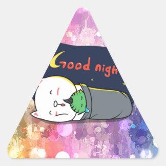 Pop art, fun, happy,girly,anime,colorful art,glitz triangle stickers