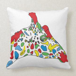 Pop Art Giraffe Cushion