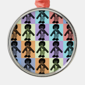 Pop Art Golly Christmas Ornament