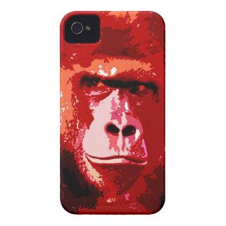 Pop Art Gorilla iPhone 4 Cases