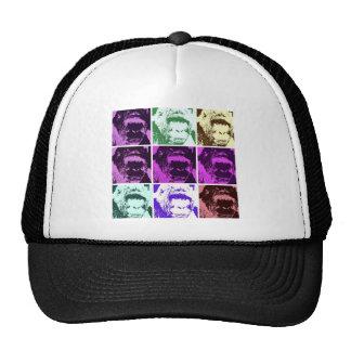 Pop Art Gorilla Faces Trucker Hat