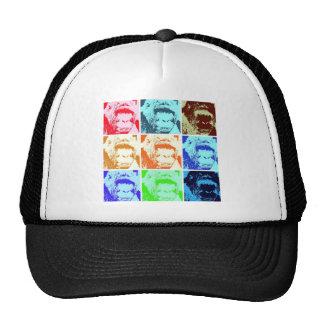 Pop Art Gorilla Mesh Hats