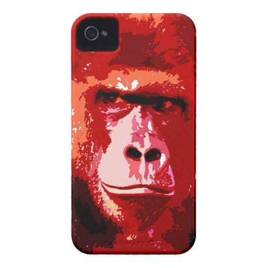 Pop Art Gorilla iPhone 4 Cover