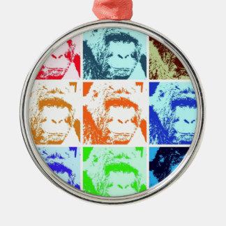 Pop Art Gorillas Ornaments