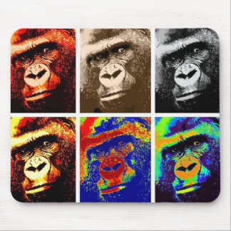 Pop Art Gorillas Mouse Mat