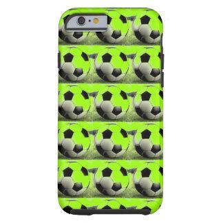 Pop Art Green Soccer Balls iPhone 5 Case