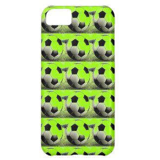 Pop Art Green Soccer Balls iPhone 5C Cover