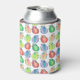 Pop Art Guinea Pig Pattern Can Cooler