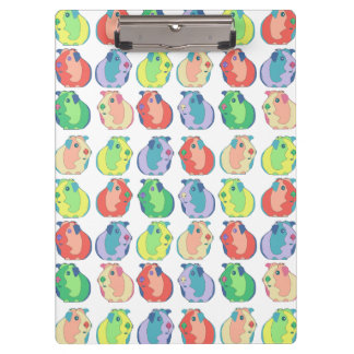 Pop Art Guinea Pig Pattern Clipboard