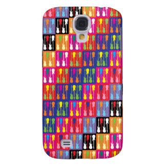 Pop Art Guitars 3G/3GS  Galaxy S4 Case