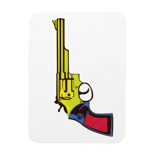 Pop Art Gun Magnet