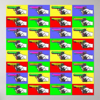 Pop-Art Guns Poster