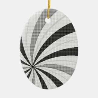 Pop Art Halftone Backdrop Christmas Ornament